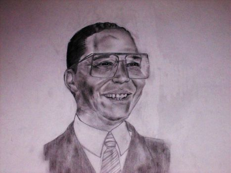 The Honorable Louis Farrakhan by BrotherAaron012