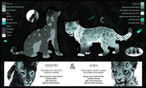Demitri and Aura Reference by TamberElla