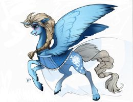 Disney Pony Elsa by Aspendragon