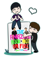The Amazing Book Is Not On Fire by ReMr186