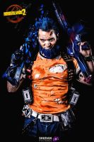 The gunzerker : Salvador from borderlands 2 by ico-art