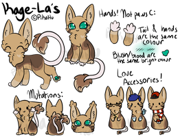 Kage-La's Species Reference by starsleeps