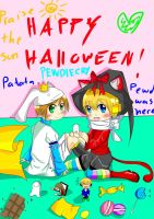 PewDieCry:Happy Halloween~ by NekoRin19