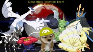 Claudette's Pokemon team by Metallica1147