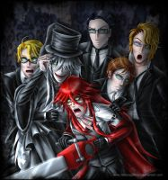 Haunted House Reapers by fallnangeltears