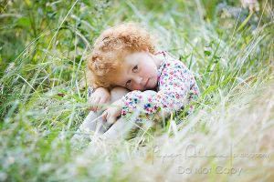 girl in field by CreativeExpressions
