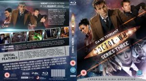 DOCTOR WHO SERIES 3 BLU-RAY COVER by MrPacinoHead