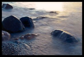 Mist on the Rocks by FallesenPhotography