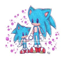 #Sonic Generations#  :D by POLISHhedgieFanGirl