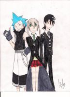 soul eater meisters by pandabear0223