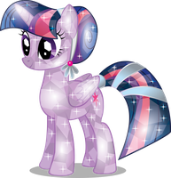 Twilght Sparkle Crystal by InfiniteWarlock