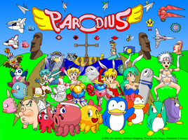 Parodius Tribute by Rainbow-and-Emeraldo