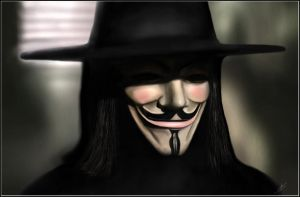 V For Vendetta. by skidu