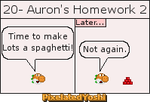 20 - Auron's Homework 2 by PixelatedYoshi