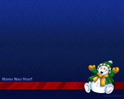 New Year 2011 - Snowman 3 by Letyi