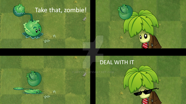 PvZ Comic 1 (by HfEvra) by HfEvra