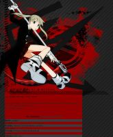 Soul Eater Journal Skin by Adestaria