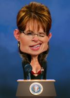 Sarah Palin by RodneyPike