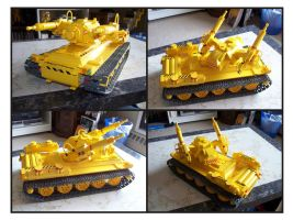 Lego Anti-Aircraft Tank 2 by Frohickey