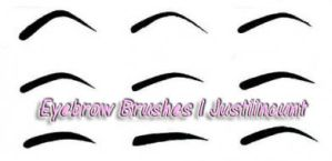 Eyebrow Brushes PS7 by JustiinCunt