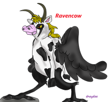 RavenCow by The-Real-Shaydee