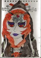 Twilight Princess Watercolour Minda by ForestKitty22