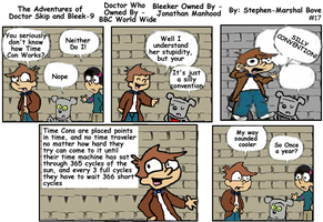 The Adventures of Doctor Skip Strip 17 by GreedLin