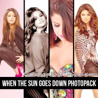 When The Sun Goes Down Photopack by CattaHappySmile