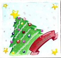 Turners Xmas card by ChibiCelina