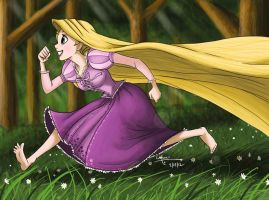 I Could Go Running by ArtsyMaria