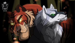 Akella and Shere Khan by Brevis--art