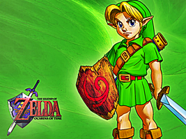 Young Link Wallpaper by Skylight1989