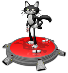El Gato 3D by deiby-ybied