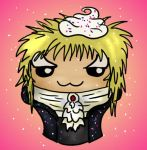Jareth the Goblin Cupcake by Captain-Savvy