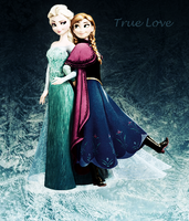 Anna and Elsa: True Love by Harley-Jay