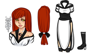 Annette - Bleach Adoptable (SOLD) by Kaiza-n-Moose-Adopts