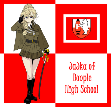 Jajka of Bonple High School! by mirage2000