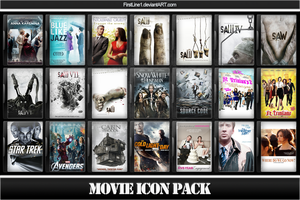 Movie Icon Pack 57 by FirstLine1