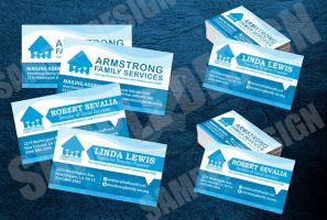 Armstrong Business Card by michaeltuan97
