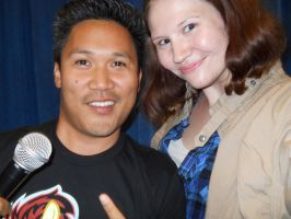 Me and Dante Basco by SabinaRose5