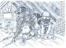 Mercenaries by appleman86