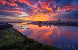 Fire over the Straits by Draken413o
