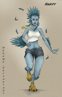 Monster Girl - Harpy by Megume