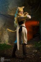 Leone cosplay by Bahamut95