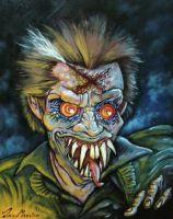 EVIL ED from Fright Night by DEMON-DAN-MARSICO