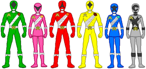 Power Rangers Star Strikers by firebirdmaximus