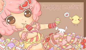 happy easter by stephie-boo