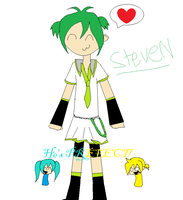 Miku and Len's son by OniChick63