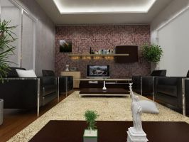 Living room by Yeldy