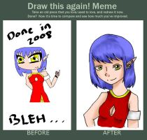Before and after meme by misteve
